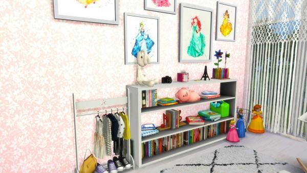 Models Sims 4: Girls Room Beach House