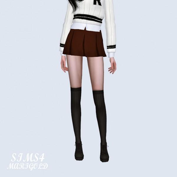 SIMS4 Marigold: Mini Pleats Skirt Secret