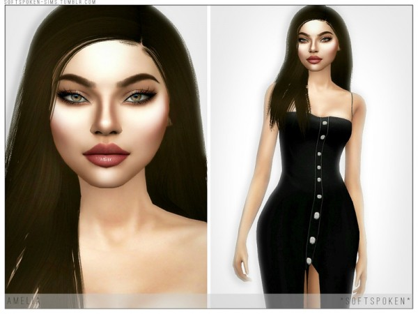 The Sims Resource: Amelia by Softspoken