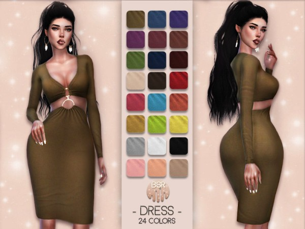 The Sims Resource: Dress BD16 by busra tr