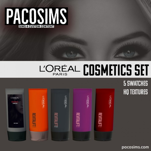 Paco Sims: Cosmetics Set