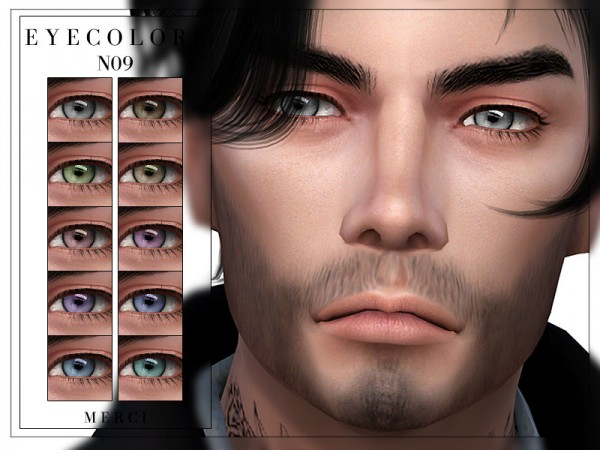 The Sims Resource: Eyecolors N09 by Merci