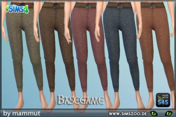 Blackys Sims 4 Zoo: Pants Wool by mammut