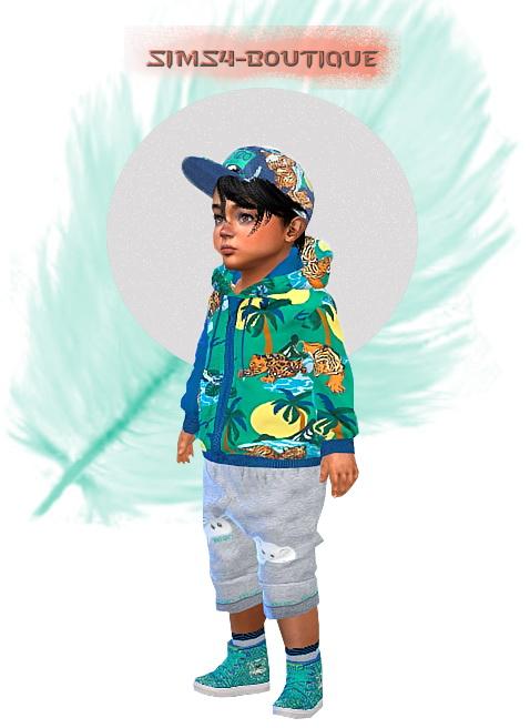 Sims4 boutique: Designer Set for Toddler Boys