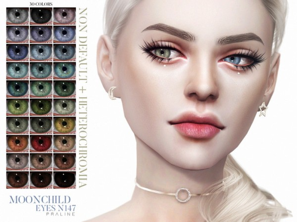 The Sims Resource: Moonchild Eyes N147 by Pralinesims