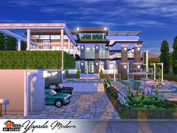 The Sims Resource: Yapada Modern House by Autaki