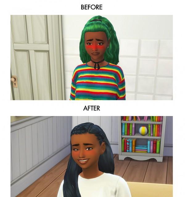 Kawaiistacie Melanin Add On Slice Of Life Sims 4