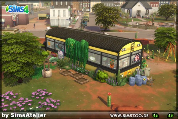 Blackys Sims 4 Zoo: Endstation by SimsAtelier