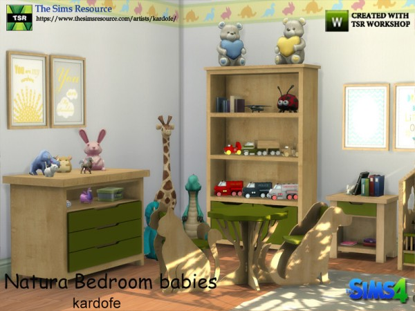 The Sims Resource: Natura Bedroom Babies by kardofe