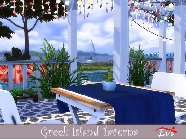 The Sims Resource: Greek Island Taverna by evi