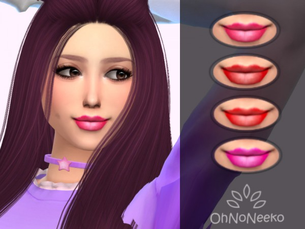 The Sims Resource: ONN Macey Lipstick by OhNoNeeko