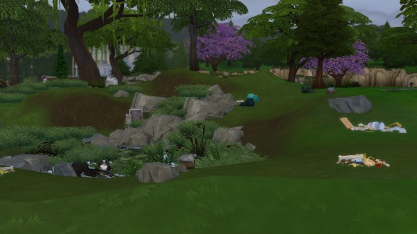 Mod The Sims: Less Perfect Empty Lots series part one by 8 tail kitsune