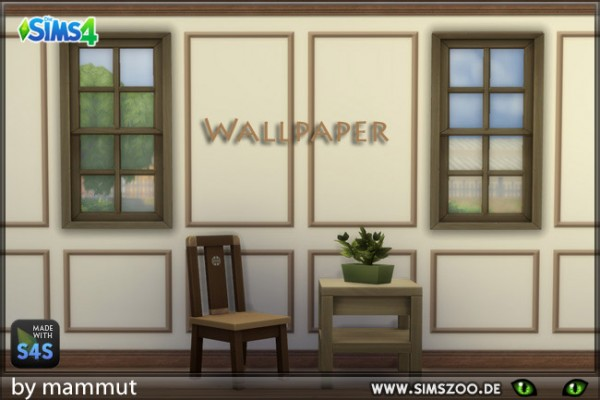 Blackys Sims 4 Zoo: Bohemian walls 1 by mammut