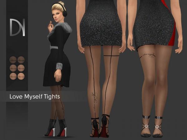 The Sims Resource: Love Myself Tights by DarkNighTt