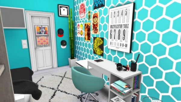 Models Sims 4: Boys Room   Beach House