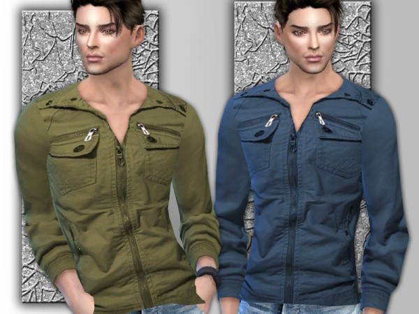 The Sims Resource: Mens Long Sleeve Shirt by Sims House