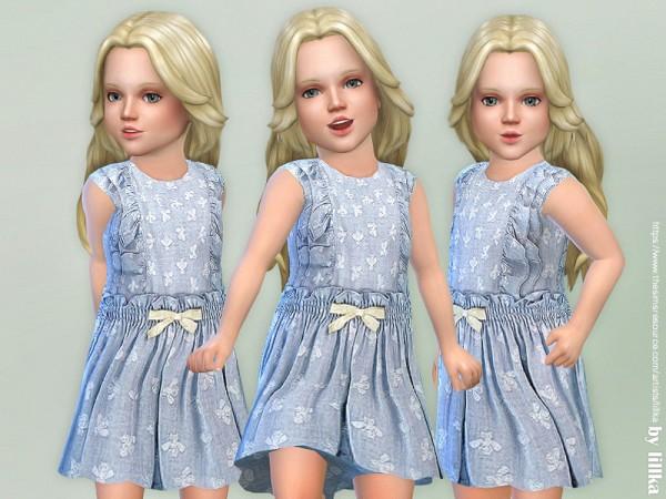 The Sims Resource: Ella Dress by lillka