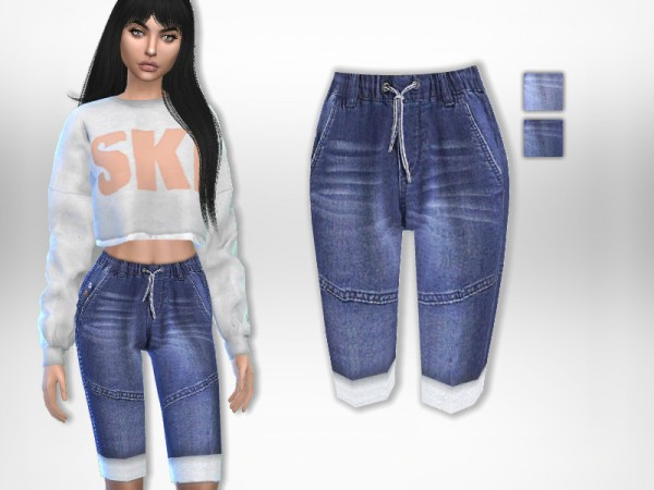 The Sims Resource: Capri Jeans by Puresim