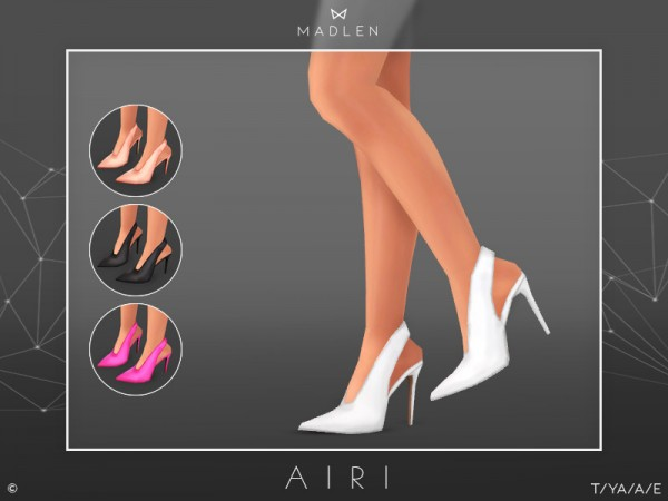 The Sims Resource: Madlen Airi Shoes by MJ95