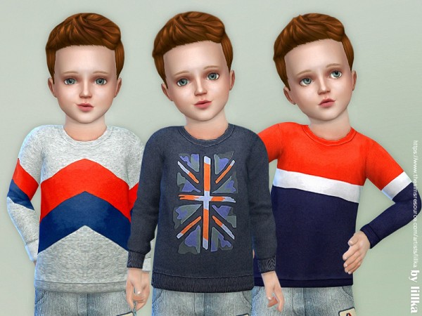 The Sims Resource: Leisure Sweatshirt for Toddler by lillka