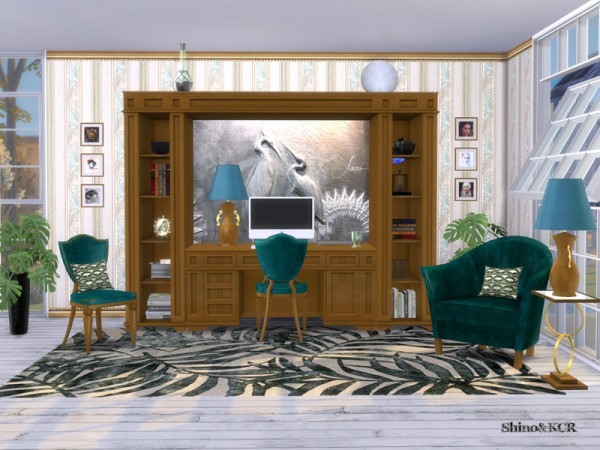 The Sims Resource: Homeoffice Classy by ShinoKCR