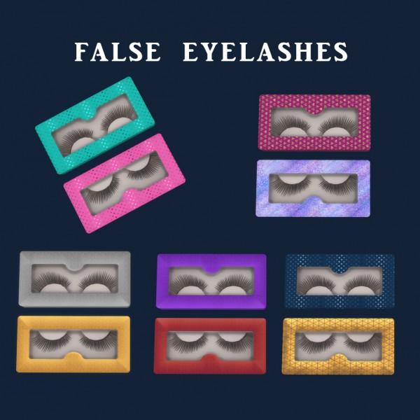 Leo 4 Sims: False Eyelashes
