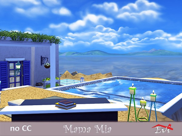 The Sims Resource: Mama Mia House by Evi