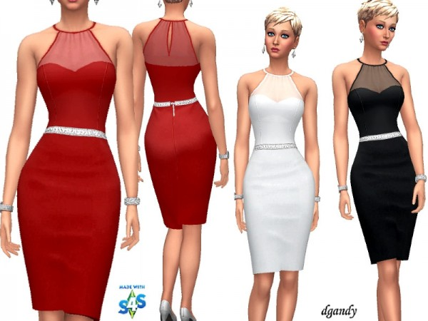 The Sims Resource: Dress   201902 01 by dgandy