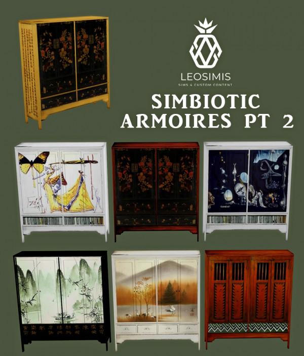 Leo 4 Sims: Simbiotic Armoires 2
