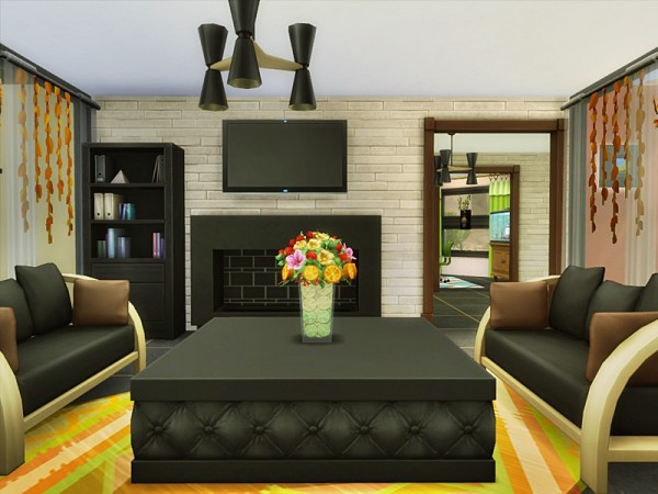 The Sims Resource: Dream Luxury small house by Danuta720
