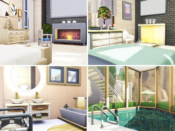 The Sims Resource: Luxury Modern Oasis by MychQQQ
