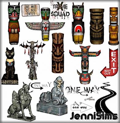 Jenni Sims: Decorative Statues   Totem