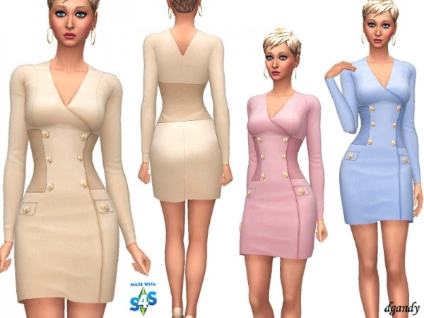 The Sims Resource: Dress   201902 06 by dgandy