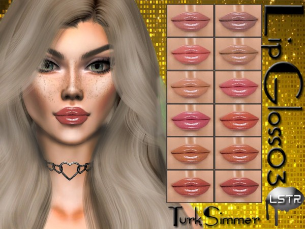The Sims Resource: Lip Gloss 03 by turksimmer