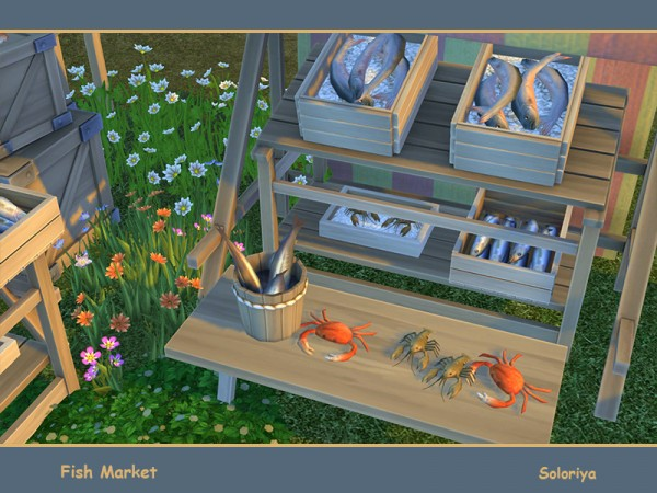 The Sims Resource: Fish Market by soloriya