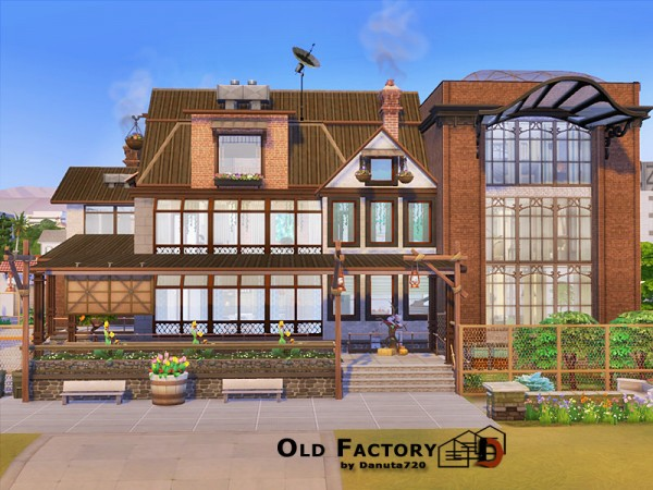 The Sims Resource: Old Factory No CC by Danuta720