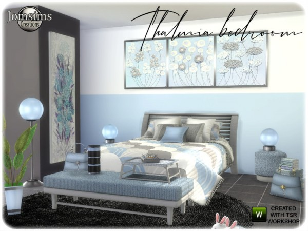 The Sims Resource: Thalmia bedroom by jomsims