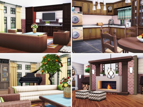 The Sims Resource: Comfy American House by MychQQQ