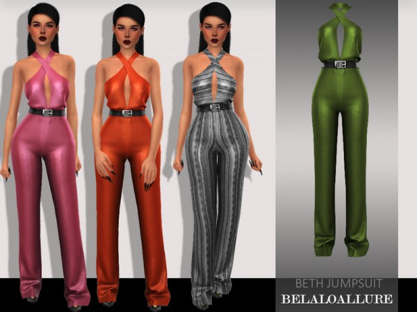 The Sims Resource: Beth jumpsuit by belal1997