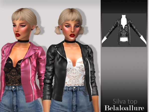 eri tavalla pikatoimitus saapuu The Sims Resource: Silva top by belal1997 • Sims 4 Downloads