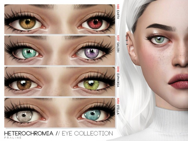 The Sims Resource Heterochromia Eye Collection By
