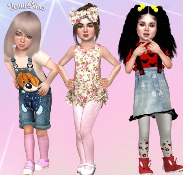 Jenni Sims: Sets Socks Conversions ballerina Toddlers