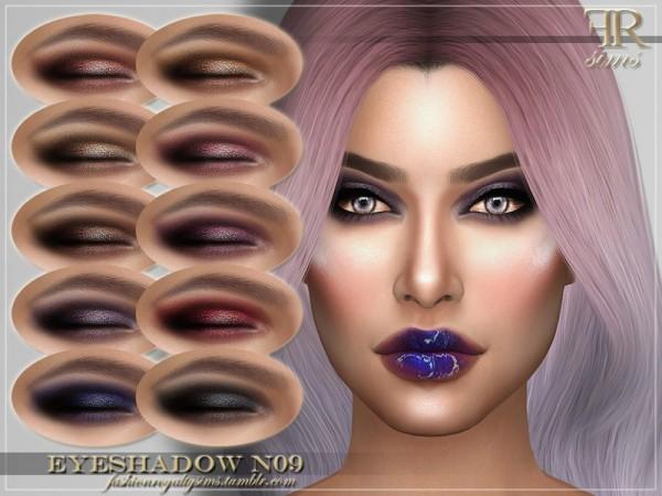 The Sims Resource: Eyeshadow N09 by FashionRoyaltySims