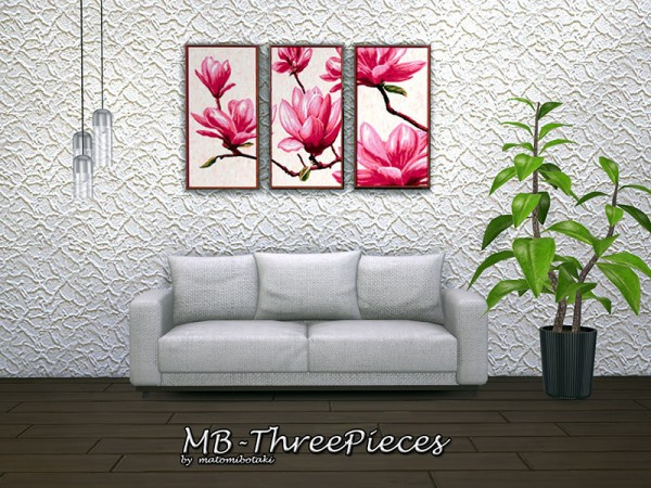 The Sims Resource: Three Pieces paints by matomibotaki