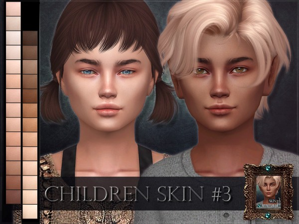 The Sims Resource: Children Skin 3 by RemusSirion