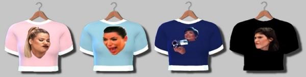 Descargas Sims: Kardashians T Shirts