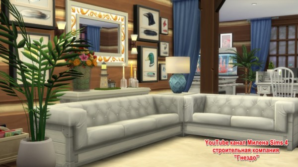 Sims 3 by Mulena: House Dream no CC