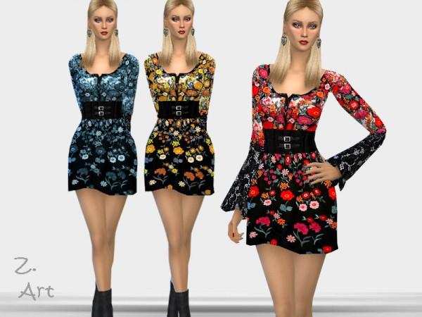 The Sims Resource: TrendZ. Dress by Zuckerschnute20