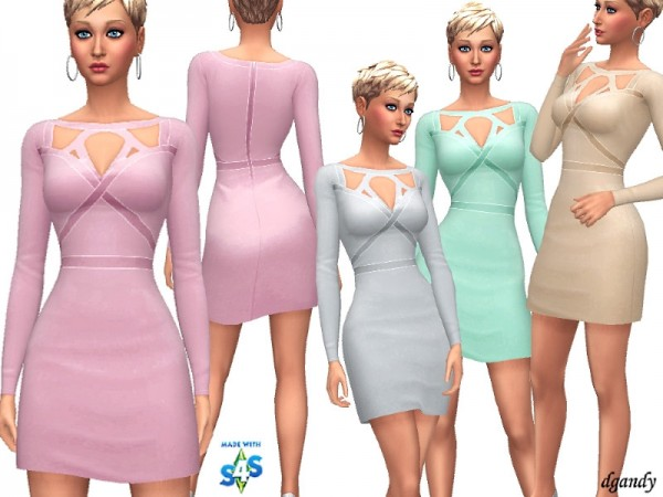 The Sims Resource: Dress   201902 11 by dgandy