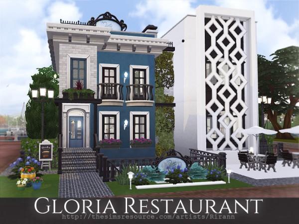 The Sims Resource: Gloria Restaurant by Rirann